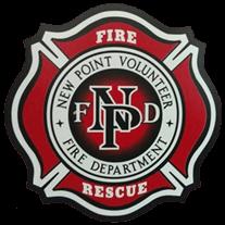 New Point Volunteer Fire Department logo